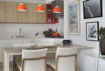 bancadas e mesas de cozinha