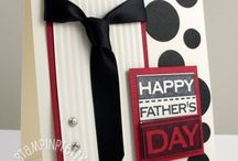 Stampin up-masculine/father's day