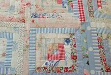 quilts log cabin / by Phebe-and-Jane