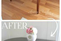 update wood furniture