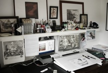 illustrator's studio