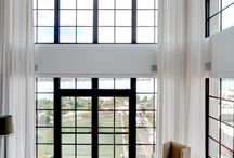 Duplex apartment window treatments / Window treatments solution's for really tall ceilings