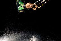kiteboard .