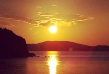 Patmos' Dramatic Sunset / When the sun sets in Patmos, real changes are evident in the air... http://goo.gl/DofXBY