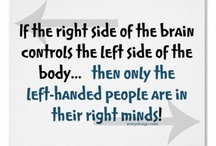 Left Can be Right! / Some of the best people are left handed - including me. A quirky collection of left handed people, facts and gadgets.