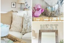 pretty living spaces / by Pam MacCready