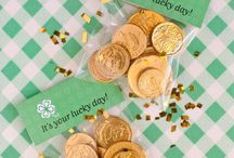 St Patty Day favors