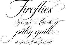 Typefaces FONTS