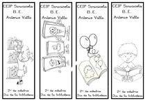 Marcapáginas / Puntos de lecturas o marcapáginas