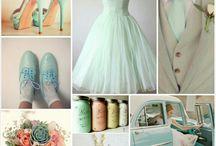 Mint Vintage Wedding Finds
