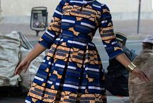I am African Print