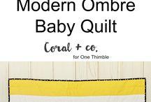 Modern Quilts / Modern Quits, Quilting, Tutorials, Patterns, and Modern Quilt Blocks