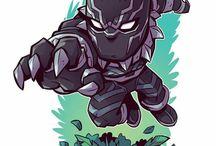 superhero chibi