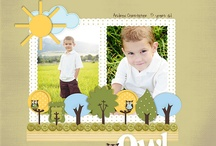 My Digital Studio Ideas / Stampin' Up!, My Digital Studio - MDS, Digital Scrapbook Layouts Ideas