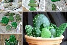 Piedritas cactus