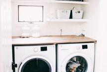 Prádelna - technická místnost