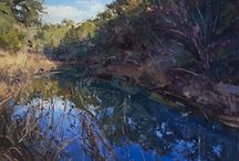 Jill Carver Plein Air Landscapes / http://savvypainter.com/podcast/landscape-painter-jill-carver/