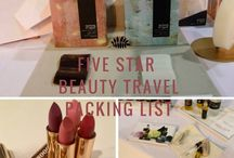 Five Star Beauty Travel Packing list
