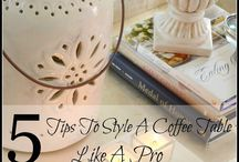Tip to style a coffee table