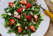 Grain-free Salads / Salad recipes for people on Paleo, Primal, GAPS, SCD, and gluten-free diets.