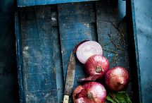 food styling blue and ligth blue