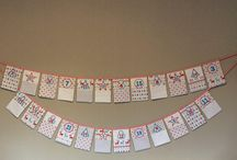 Team bunting & wall decor 2018, supported by Ashley's Magic Melts / Bunting, wall decor, hanging ornaments