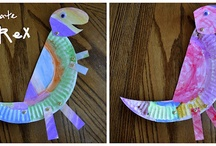 Dinosaurs / All things crafty for kids who love dinosaurs