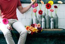 Flower-Power / Ihre Lieblingsblumen werden jetzt ganz neu inszeniert – in Vasen und Töpfen, die sie selbst gestalten.