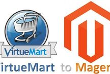 VirtueMart to Magento Migration / With our VirtueMart to Magento Migration services you can migrate your products, customers, and other store data from VirtueMart to Magento.