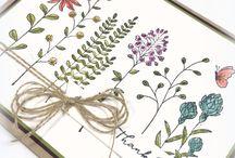 DIY Cards - Flowering Fields