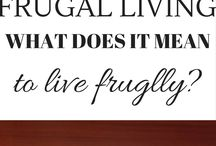 Frugal Living Tips / Frugal Living Tips to help you learn how to save money, learn how to coupon, learn how to make a budget. Wanting to save more money so you can live on less? Find out how here.