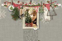 Christmas layout ideas