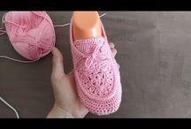 incaltaminte pt copii croşetate sau tricotate