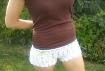 Heklet shorts og bukse