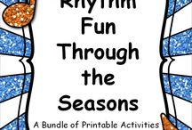Teaching Music: Rhythms.