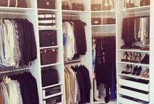 Walking closets