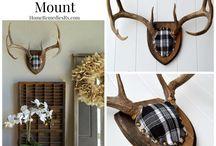 Antler mounts