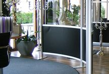 Aluminium Modular Screens / Aluminium Modular Screens.  Any size, branding or colour available.