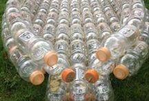 Byg med flasker