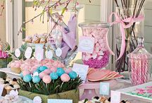 girly party  deco
