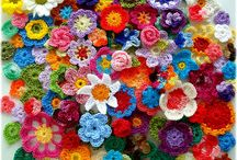 Crochet Flowers / Flowers for a flower power hippy at heart!!!!Yeah baby! / by Lora Maxwell