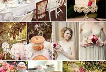 Tea Party Stylized Bridal Shoot