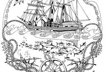 Bateau / Boat / https://www.facebook.com/Les-colos-de-kiki-780034588779254/
