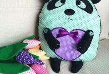 Подушки-сплюшки / Handmade pillows