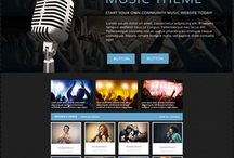 PHP Music Script / SEO friendly, responsive music community and sharing Word Press Script!