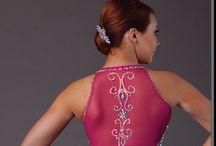 Rollkunstlaufkleider: Rücken