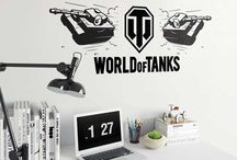 World of Tanks Stickers / Show your love for your favourite game World of Tanks with our officially licensed World of Tanks stickers shop. Shop for World of Tank themed wall art, vehicle decals and DoorWraps.