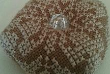 Biscornu and cross stitching / biscornu cross stitch