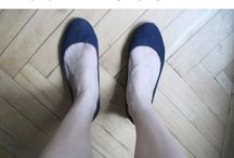 H and M flat shoes