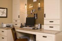 Built In Desks / Desk built-ins.